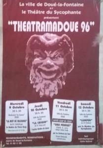 affiche Théâtramadoué 1996