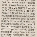 15 article C.O. du 14 11 2013