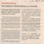 3) Article C.O. du 17 01 2020